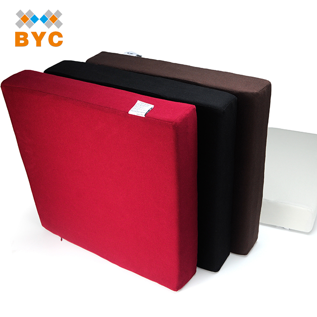 BYC Wholesale Low-temperature Resistance Memory Foam Stadium Cushion