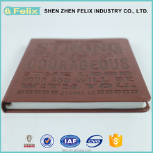 China Wholesale High Quality Western Leather Notebook Cover