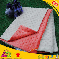 Christmas Hot Sale Minky Soft Touch Baby Blankets BB151127494