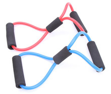 TPE latex free Spring Exerciser Resistant Yoga Pull Rope,Elastic Exercise Band