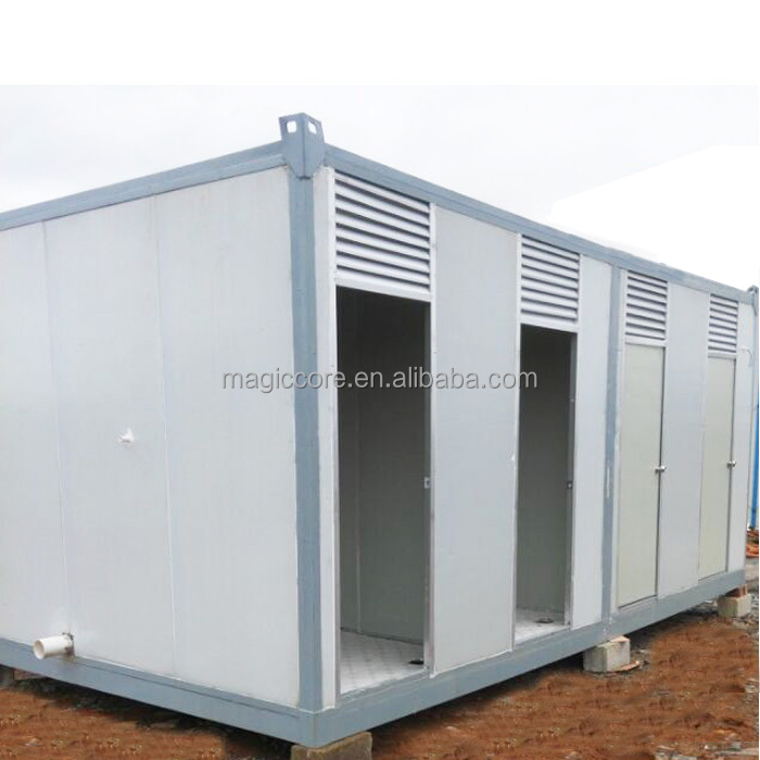 prefab tiny house on wheels steel container storage mobile home wall paneling mobile toilet van