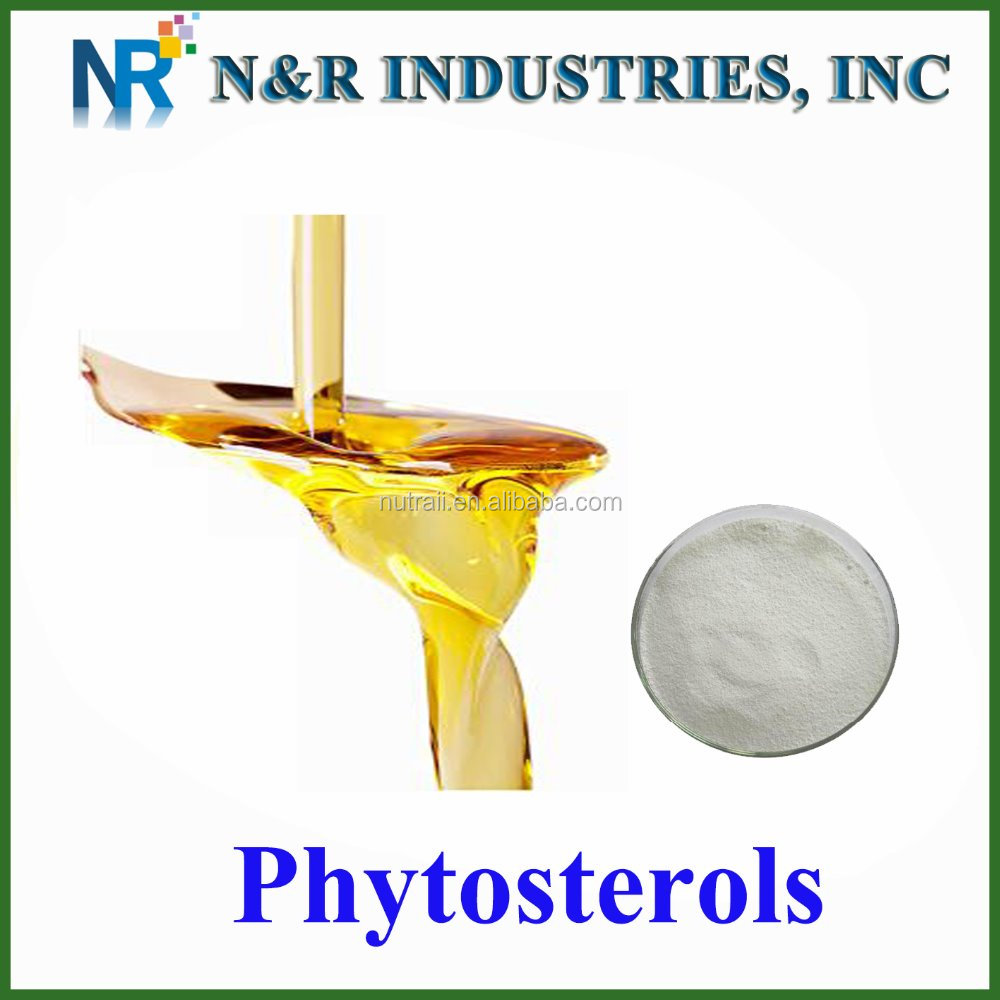 manufacturer supply phytosterol /soybean oil extract /phytosterol powder