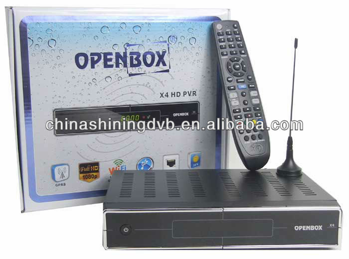 2012 new model Openbox x4 with GPRS