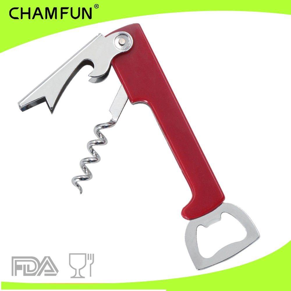 Simple multifunction Bottle opener and wine opener corkscrew
