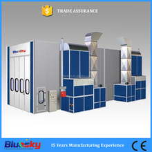 CE approved high quality used spray booth for sale/quality cabins/truck spray booth