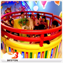 Attractive theme park amusement rides musical disco tagada turntable for sale
