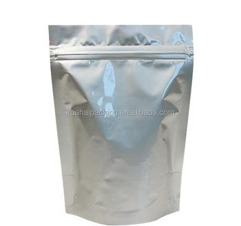 Standup aluminum ziplock bags for coffee