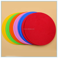 Assorted Color Eva Foam Circle Crafts for Kids School Education Diy 1.5mm