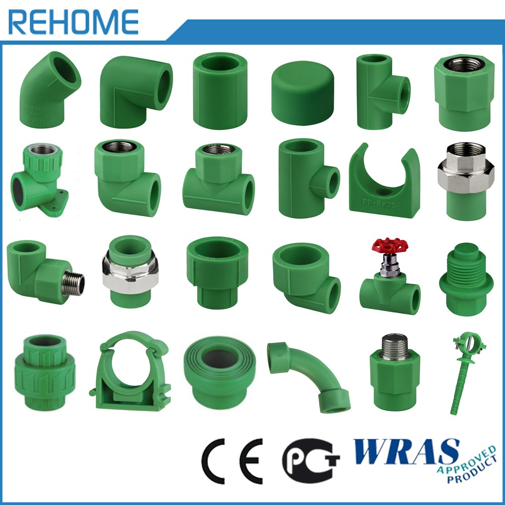 2017 Hot sale Green Hot and cold Drinking water supply ppr fittings