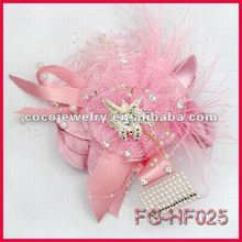 2012 Fashion bridal feather wedding flower wholesale