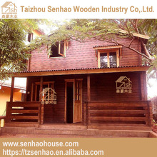 Newly Designed Solid prefabricated house low cost small prefab wooden villa