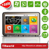 Factory sale 5 inch HD touch screen auto gps model no. K9 with fast 800MHz CPU