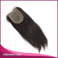 Premier Hair 12inch Indian Remy Silk Top Closure Light Yaki Silk Top Closure Indian Remy Light Yaki Silk Top Closure