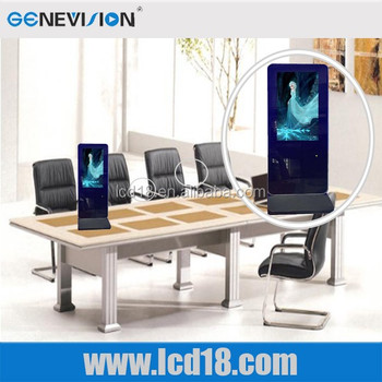 12 inch table standing small size lcd monitor for advertising display