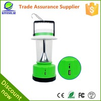 42 led solar lamp 18650 li-ion battery led camping lantern