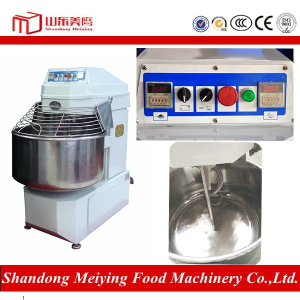CE approved High efficiency JSM series automatic stand dough mixer prices spiral mixer
