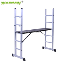 Aluminium Scaffolding Industry System Folding Platform Ladder AM0405A