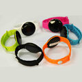 Bluetooth Silicone Bracelet Compatible with iBeacon &Eddystone Smart Beacon Wristband/Bracelet/Keyring