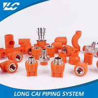High quality water plumbing plastic pipe Butt Weld Pipe Fitting