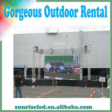 Light weight P6.944 Alibaba express high brightness P8 light weight outdoor rental led display