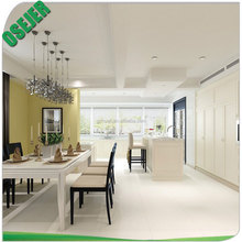 Factory supply high quality full body white porcelain floor tile with surface of 60 degrees