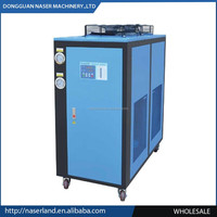 refrigerator chiller system with glycol