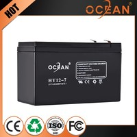 12V 7ah popular lowest price diaphanous gel battery for inverter