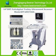 BT-UD3102A China full-digital 14inch CRT display modern medical ultrasound apparatus manufacture