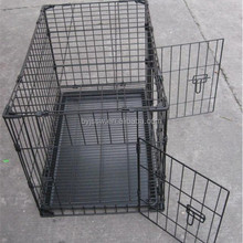 Wire Folding Iron Dog Cage/Dog Kennel For Sale