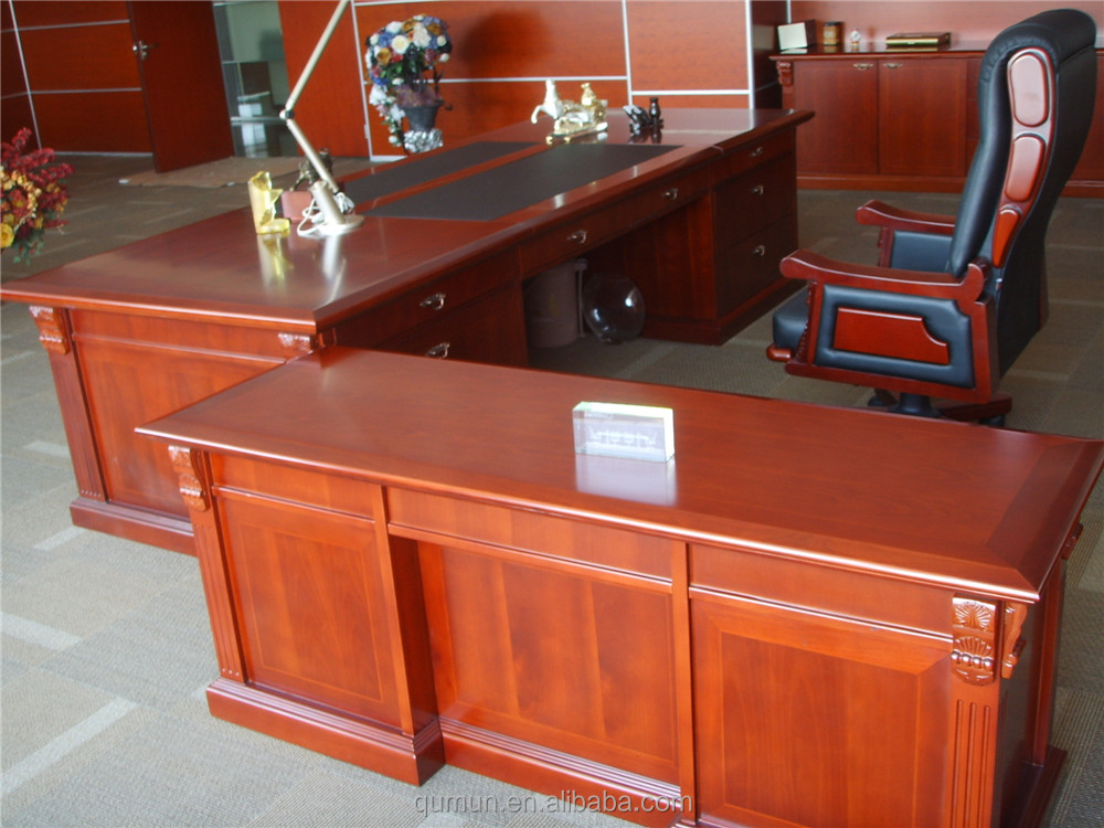 Classic office furniture european office desk made in for Classic furniture products vadodara
