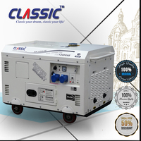 CLASSIC(CHINA) Air Cooled Low Rpm Generator 10kw,Generator Electric 220v 10kw,Low RMP Single Phase Generators 220v