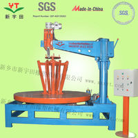 OTR tire recycling factory /OTR used tire cutting circle machine