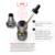 The modvapa Most Popular PANDA V12 top refilling Vaporizer,Mechanical Vaporizer,Portable Vaporizer
