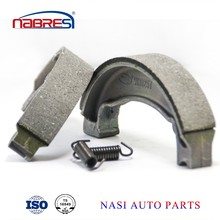 High quality motorcycle spare parts brake shoe for honda motorcycle