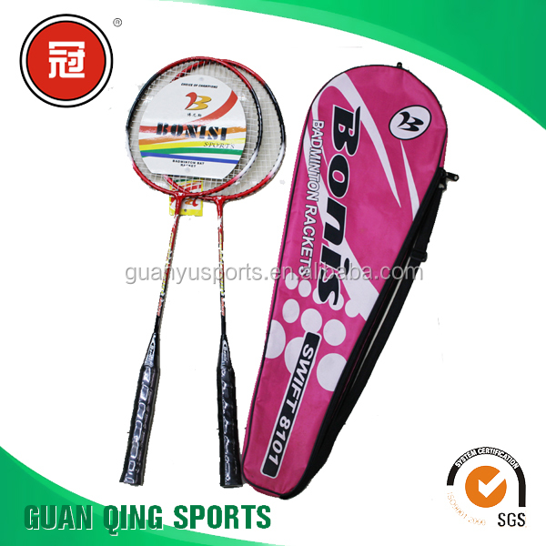 Best and high quality custom top brands of badminton racket