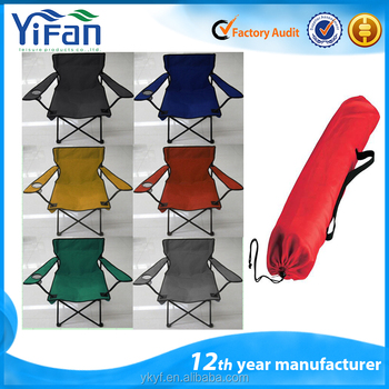 Popular Cheaper Folding camping chair with armrest with EN-581-1 Test report