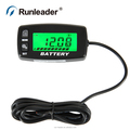 Runleader 10 Level LED Battery Capacity Indicator Voltage Meter voltage tester For Golf Cart Electrical Scooter