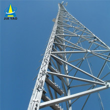 60m Three-Legged Angular Self Supporting Narrow Base Broadcast wireless radio Telecom Tower
