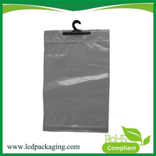 Ldpe large resealable plastic bags with waterproof zipper top
