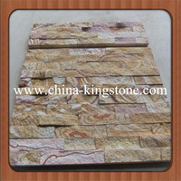 Cheapest natural rustic slate wall cladding stone for construct decoration