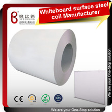 Korea LG whiteboard film laminated steel coil&sheet for whiteboard Easy to write and wipe,ROHS