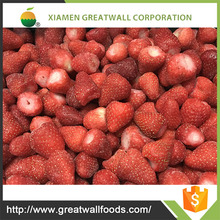 HACCP iqf frozen whole strawberries