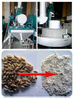 stone flour milling machine,stone mill grinder, granite mill stone