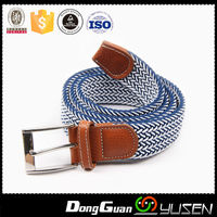 Fabric Woven Stretch Multi-Color options Unisex Elastic Braided Belt