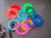 bright el wire / el chasing wire /polar light 3 el wire in 10 different colors