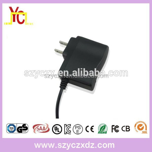 AC100-240V 50-60HZ EU US UK AU wall plug power adapter 9v 100ma 300ma 500ma
