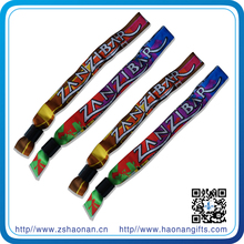 China wholesale merchandise my orders one-off woven wrist band