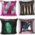 40 x 40 cm Sequin cover DIY magic two colors change Sequin pillow cushion