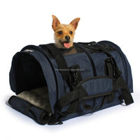 Flexible Height Pet Carriers Airline Approved Professional Tote Crate