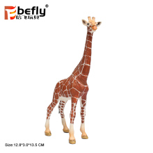 2018 Giraffe model zoo animals plastic toy